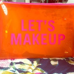 Brand New in Bag! Avon Let's Makeup Jelly Bag.